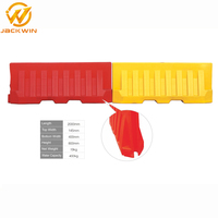 HDPE Blowing Mould Road Safety Plastic Water Barricade 2 Meter