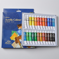 Quality 24 colors 12ml acrylic paint set for art