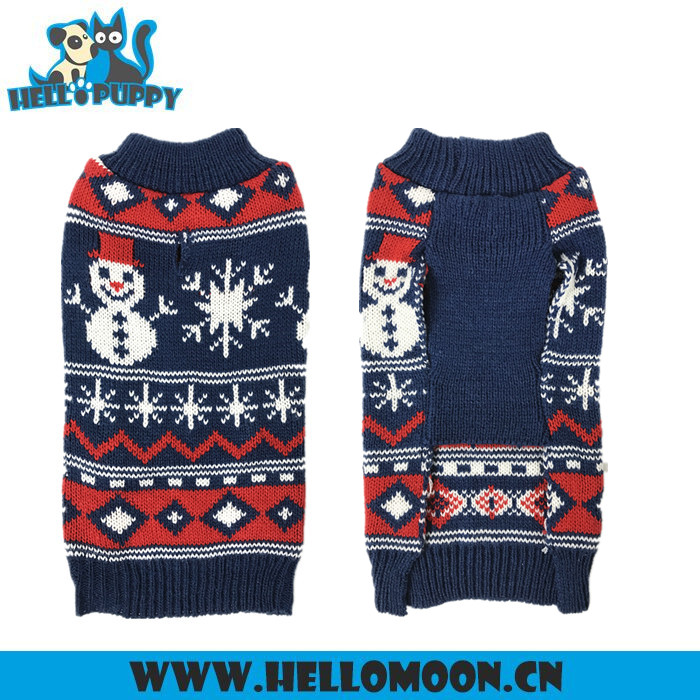 2017 Factory Bulk Stock Christmas Dog Snowman Sweater