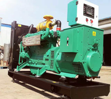 Natural gas generator 10kw to 150kw with Shengdong engine/natural gas generating set