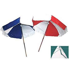 LIFEGUARD UMBRELLA - WEATHER DURABLE - NAVY BLUE AND WHITE