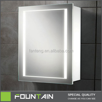 Popular Shaving Space Cabinet Ip44 Home Led Lighted Storage ...