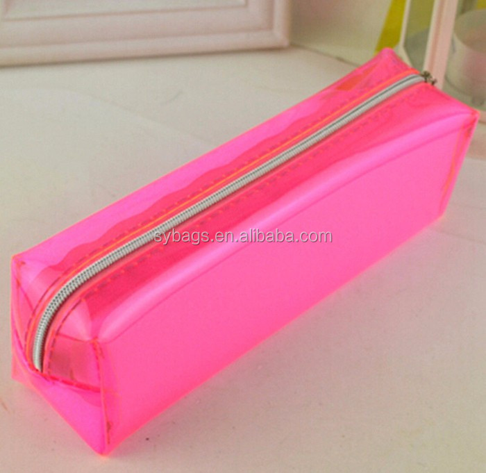 OEM Customizable Cheap Clear PVC Pencil Case