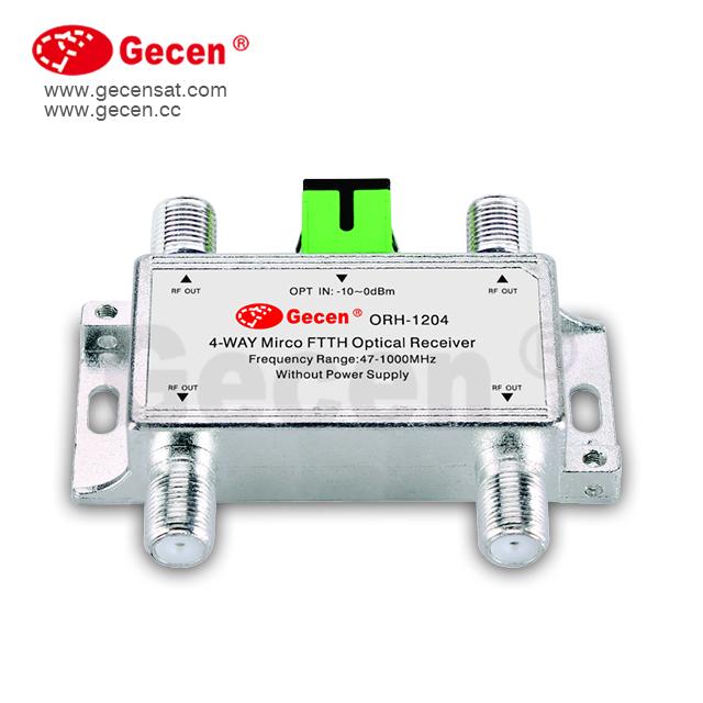 Gecen 5-2400MHz 4 way Satellite Splitter GS01-04