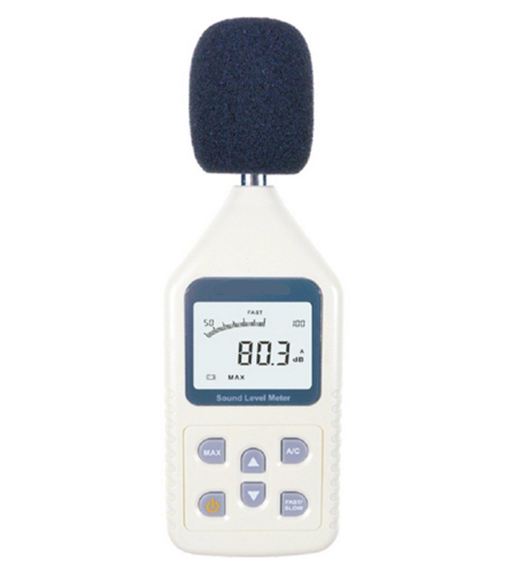 Sound Level Meter, Lifenergy Portable Sound Frequency Meter Digital Decibel Meter Handheld Noise Meter Range: 30-130dBA , 35~130dBC