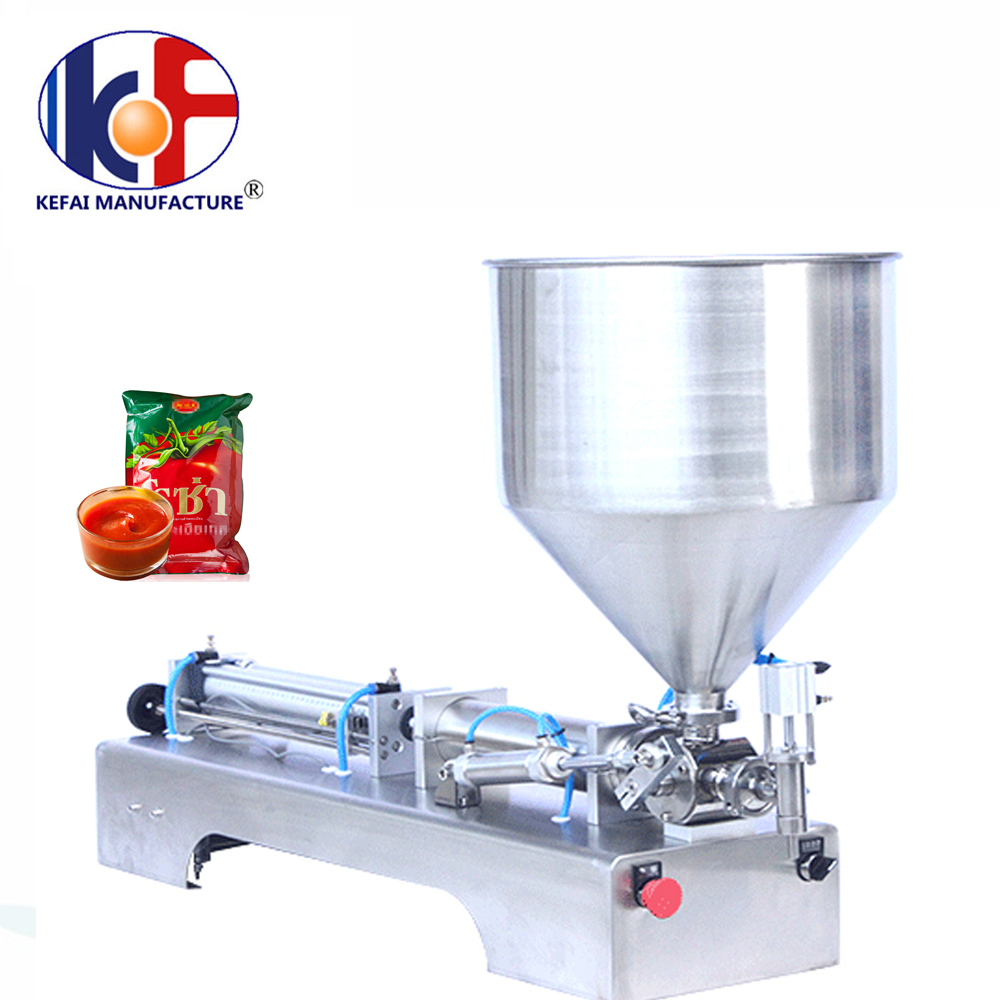 piston type automatic petroleum jelly bottle filling capping machine