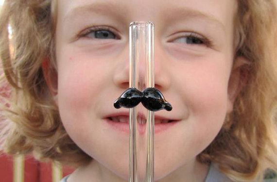 Großhandel Beliebte Lustige Trinken Stroh Für Kinder Trinken Glas Strohhalme Schnurrbart Glas Strohhalme