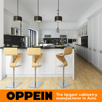 2016 New Design Modern White Maple Wood For Kitchen Cabinet
