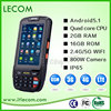 Rugged Smartphone with wifi/bluetooth/GPS/WCDMA.LECOM AN80S Data terminal