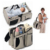 Travel Portable Diaper Bag Travel Baby Bed and Portable Changing Station, Multipurpose Baby Diaper Tote Bag Bed