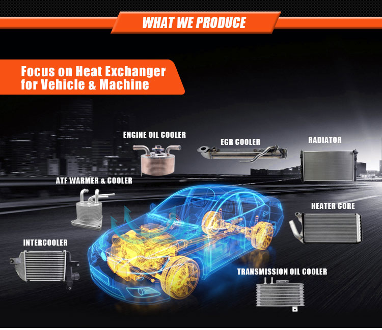 Oliekoeler Radiator voor VW Jetta Passat Golf Beetle Audi 068117021B 068-117-021B 069118021B 069-118-021B 0271170211
