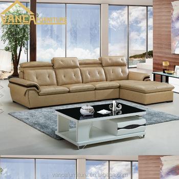 Miami Furniture Market L Shape Brown Leather Sofa - Buy L Shaped Sofa  Designs,Kuka Leather Sofa,Miami Leather Sofa Product on Alibaba.com