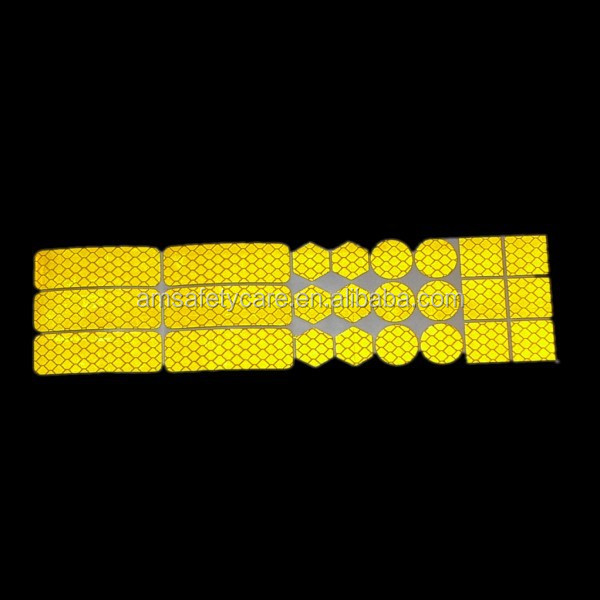 Yellow Prismatic Reflective Tape Diamond Tape
