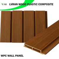 decorative wood plastic composite wall panel