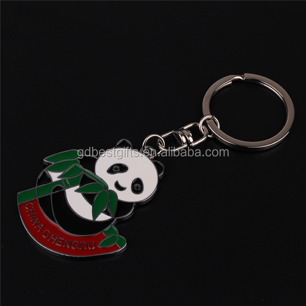 Bamboo Panda Well Made Guangdong Custom Key Chain