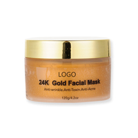 Private label natural skin care gold face mask private label beauty care face