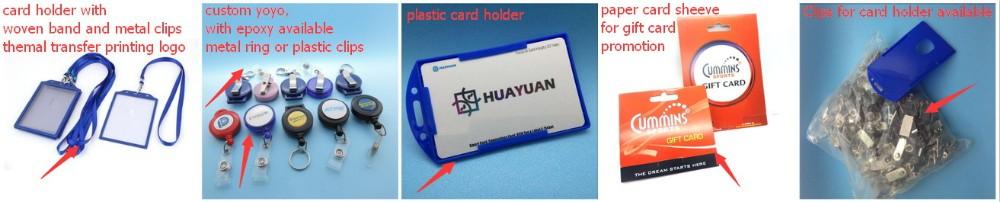 Cartão clássico do RFID 1AM RFID do negócio MIFARE do PVC NFC