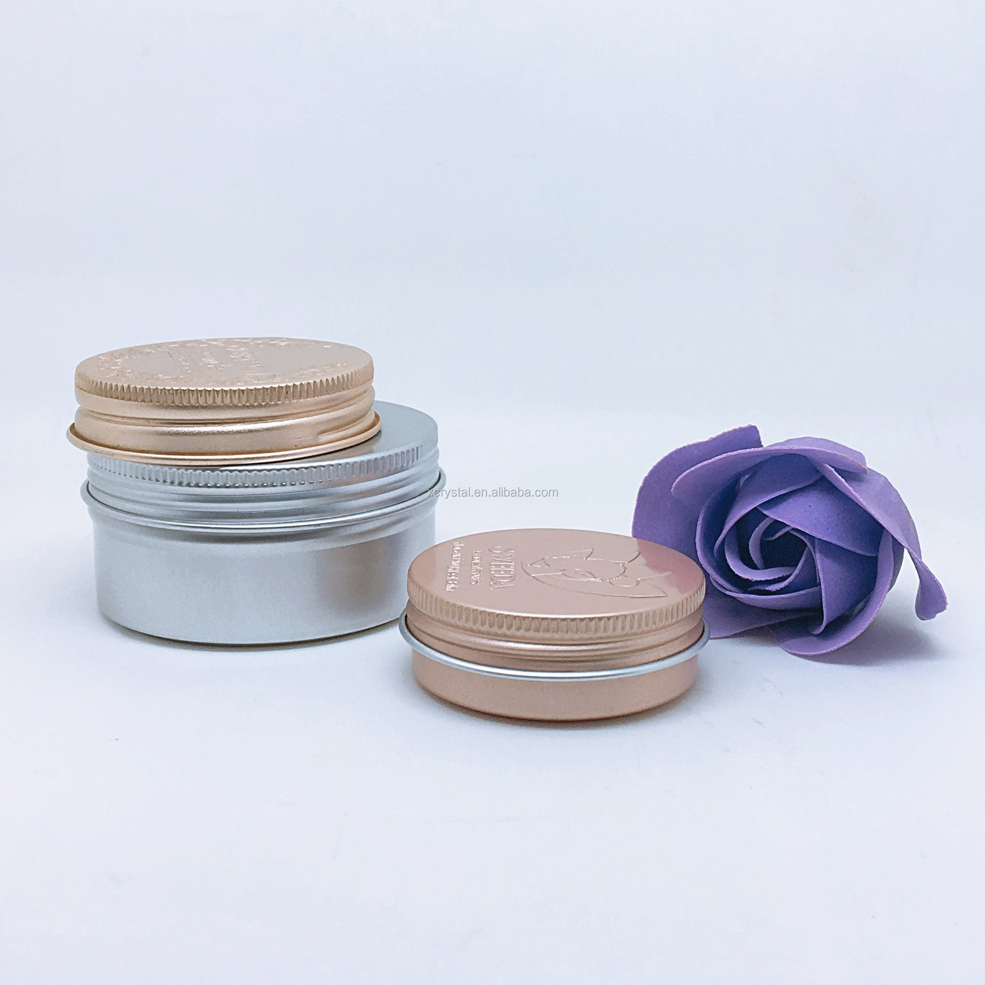 Rose Gold Cosmetic Containers, Rose Gold Cosmetic Containers Suppliers And