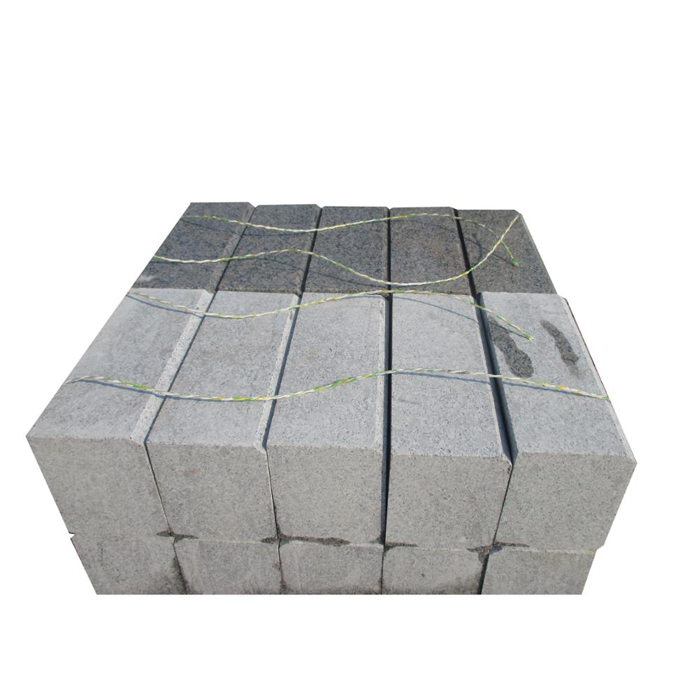 Large Cobblestone Brick Patio Granite G383 Kerbstone Pavers