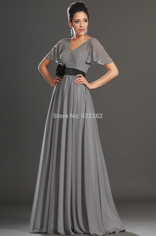 top robes blog robe longue grise pour mariage. Black Bedroom Furniture Sets. Home Design Ideas