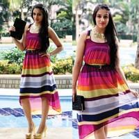 Fashion - Multicoloured Dress