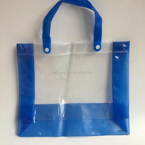 Supermaket promotional Shampoo Package bag pvc plastic shopping bag