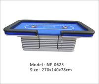 Luxury professional caino Texas poker table with custom layouts and LED