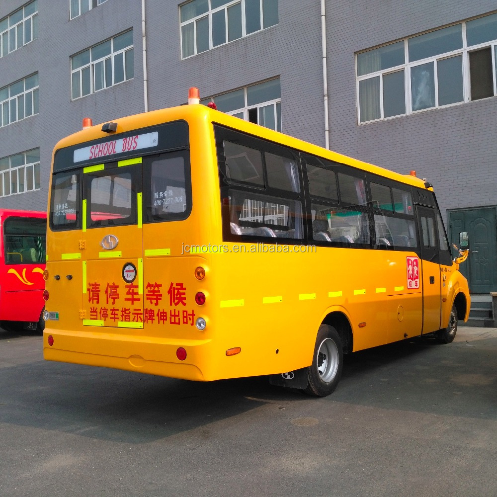 Brand new bus color design 35 seater School Bus with factory price