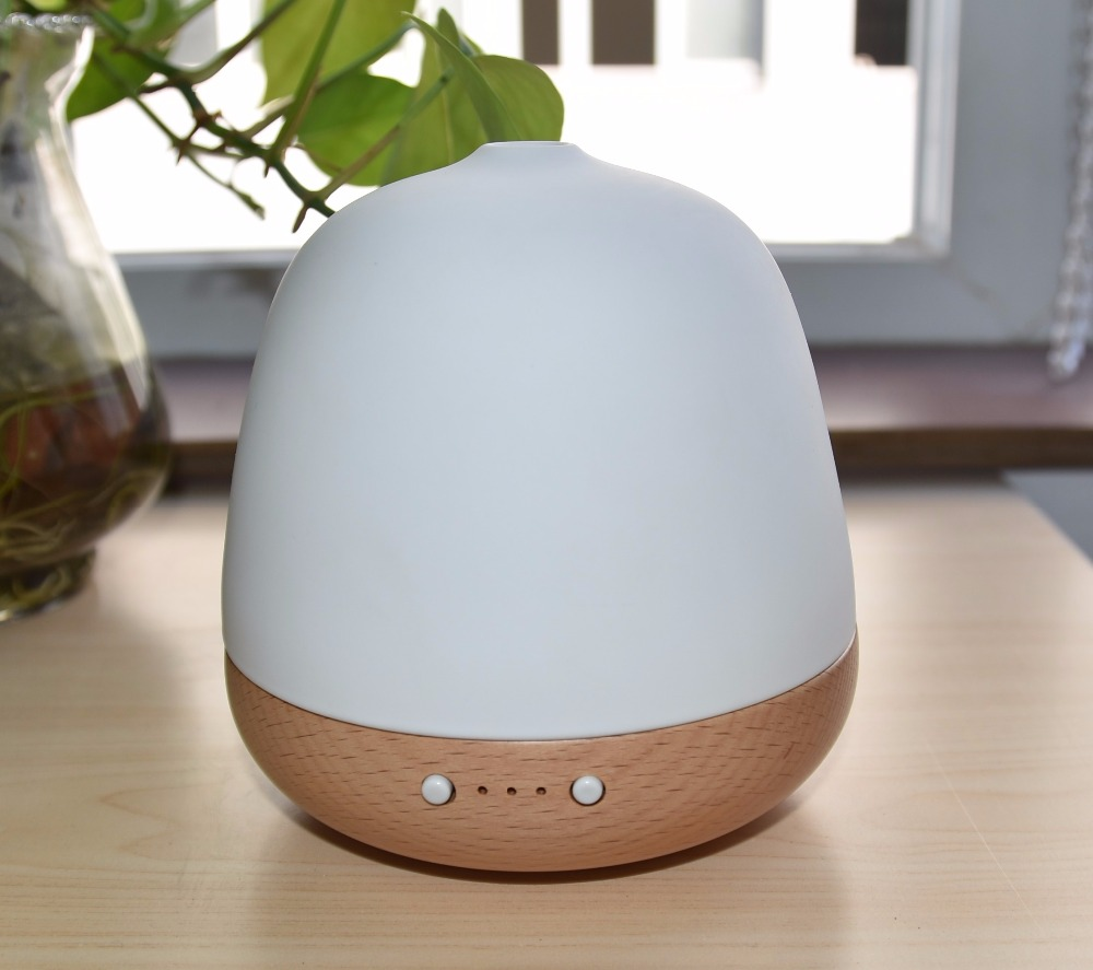 180ML Aromacare New Model Wooden Essential Oil Humidifier Aroma Diffuser with USB Cool Mist Humidifier
