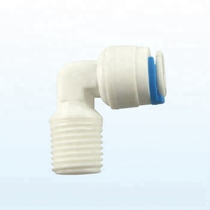 Plastic Elbow Quick Connect Water Tube Fitting for RO System