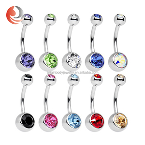 Ask for free Sample Stainless Steel Jewelry Navel Piercing