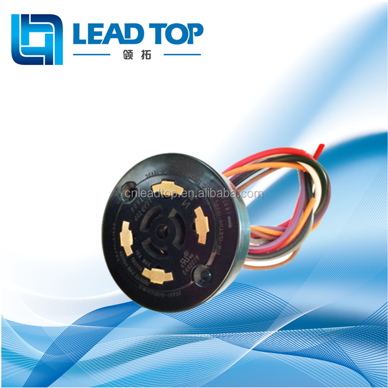Selectric LFPC5 Photocell Dusk to Dawn PEC Photo Electric Cell External Lighting Controller Kit with NEMA socket