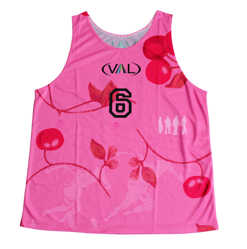 New design sublimation custom pink basketball uniforms