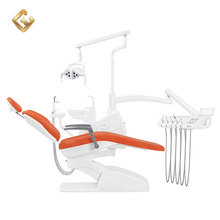 China Multifunctional High Quality Foot Control Standard Size Dental Chair Unit