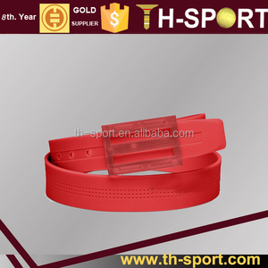 SALE Hot Red Silicone Rubber Belt Golf with Fruity Smell