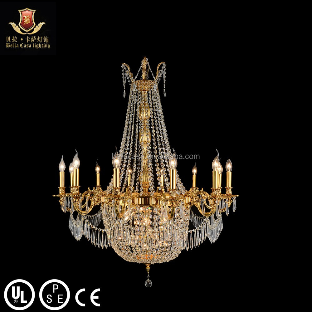 Lights & Lighting Ceiling Lights & Fans Art Decor Church Chandelier Lighting Large 3-layer Cognac Crystal Lamp 28-35 Pcs Vintage Hanging Lustre Villa Hotel Chandelier Choice Materials