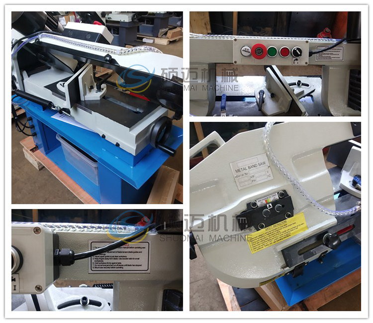 BS-712N Mini size metal band saw machine