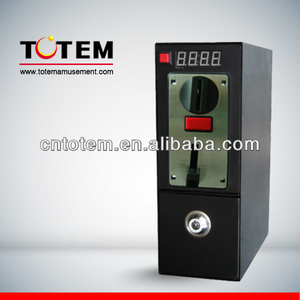 Coin timer box for photo sticker vending machine