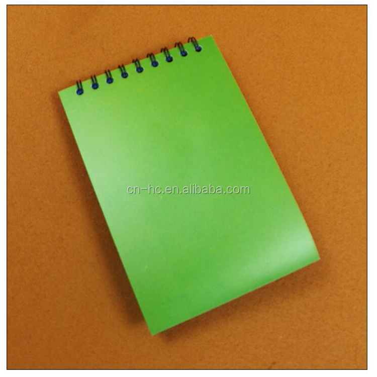 Factory Custom Printed Resealable cheap price a5 note book/ custom wire binding diary