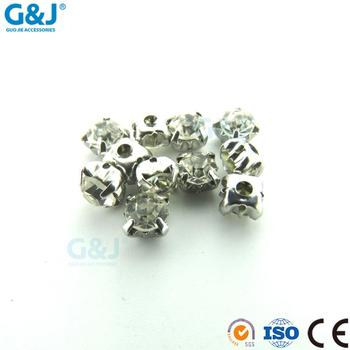 Decorative Factory Directy Round Shape SS20 stone with claw