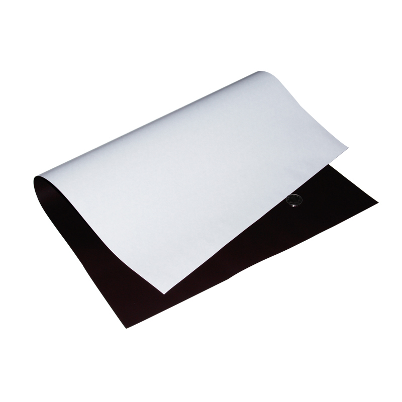 Double sided adhesive sheet PVC rubber magnet