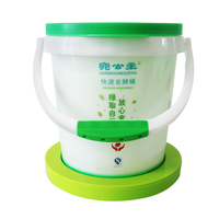 Customized Fermented Food Grade Plastic Beer Keg With Lid