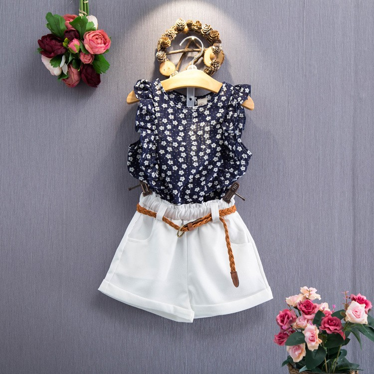 e3625a9b1 Wholesale Baby Girl Boutique Clothing Set Summer Baby Clothing 2 ...