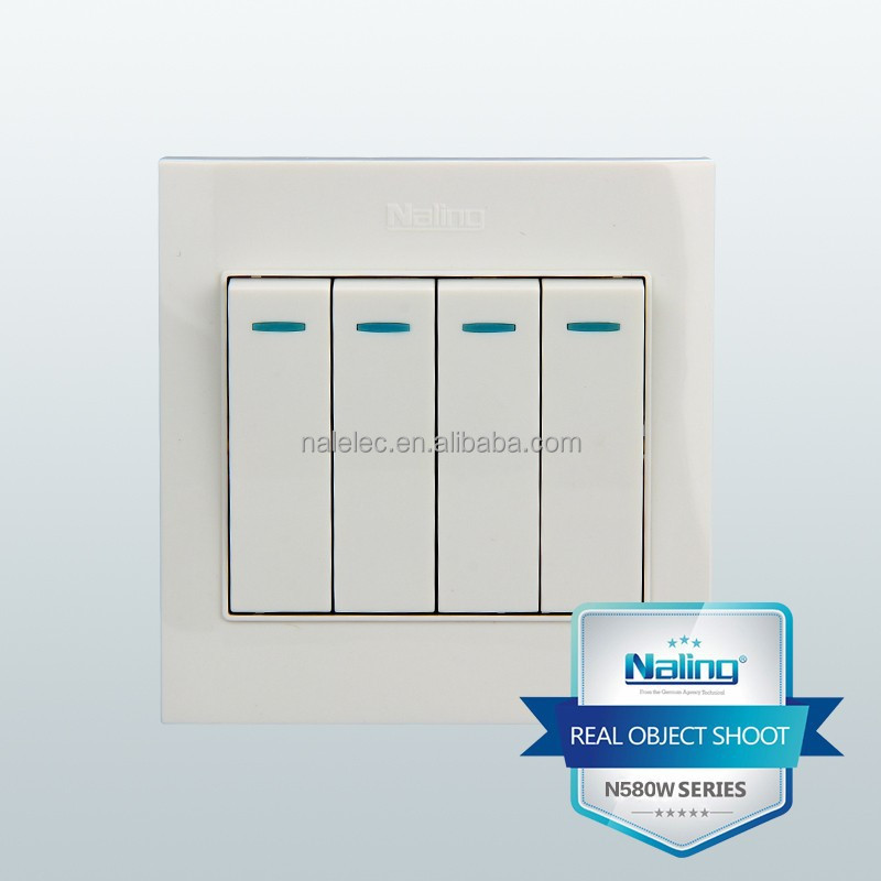 4 Gang 1 Way Switch 4 Gang 1 Way Switch Suppliers and