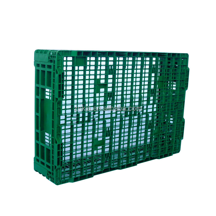 Wholesale Food Grade Collapsible Plastic Vegetable Crates for Supermarket
