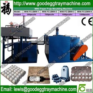 useless paper egg box forming machinery