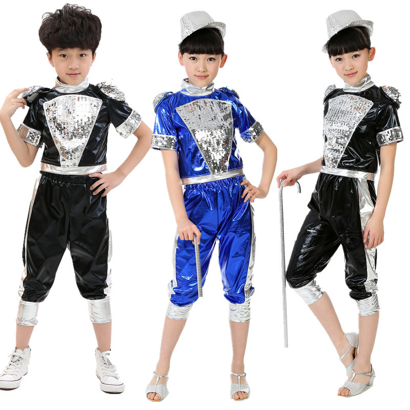 Get Quotations · The new childrenu0027s costumes children stage costumes childrenu0027s hip hop jazz leather sequined suit  sc 1 st  Alibaba & Cheap Hip Hop Jazz Costumes find Hip Hop Jazz Costumes deals on ...