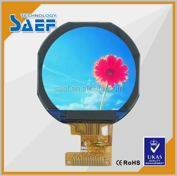 micro lcd module 1.22 inch smart watch display