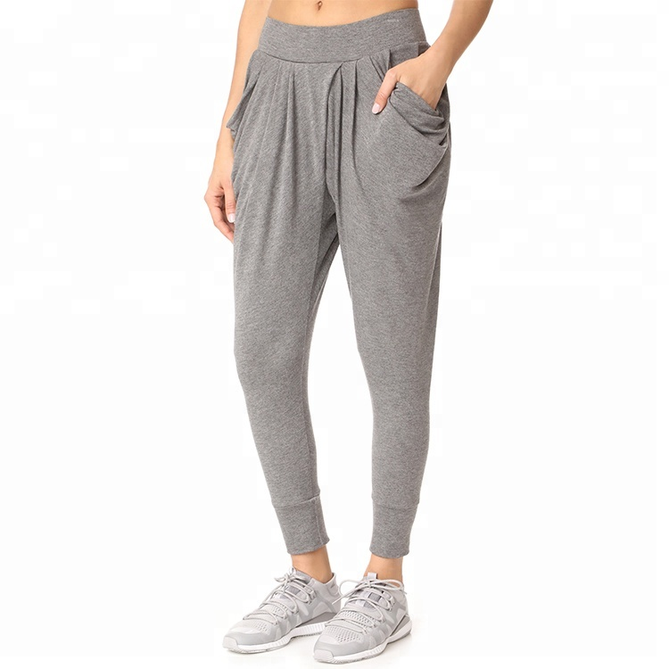 Kundenspezifische Damen Sweat Harem Trainingshose