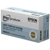 Epson C13S020448/ PJIC2(LC) Light Cyan OEM Genuine Inkjet/Ink Cartridge for Epson Discproducer Disc Publisher (PP-100) - Retail